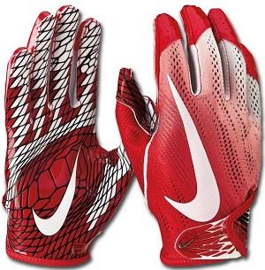 Neumann Football Handschuhe GRIPPER II Gr.S rot-grau Receiver